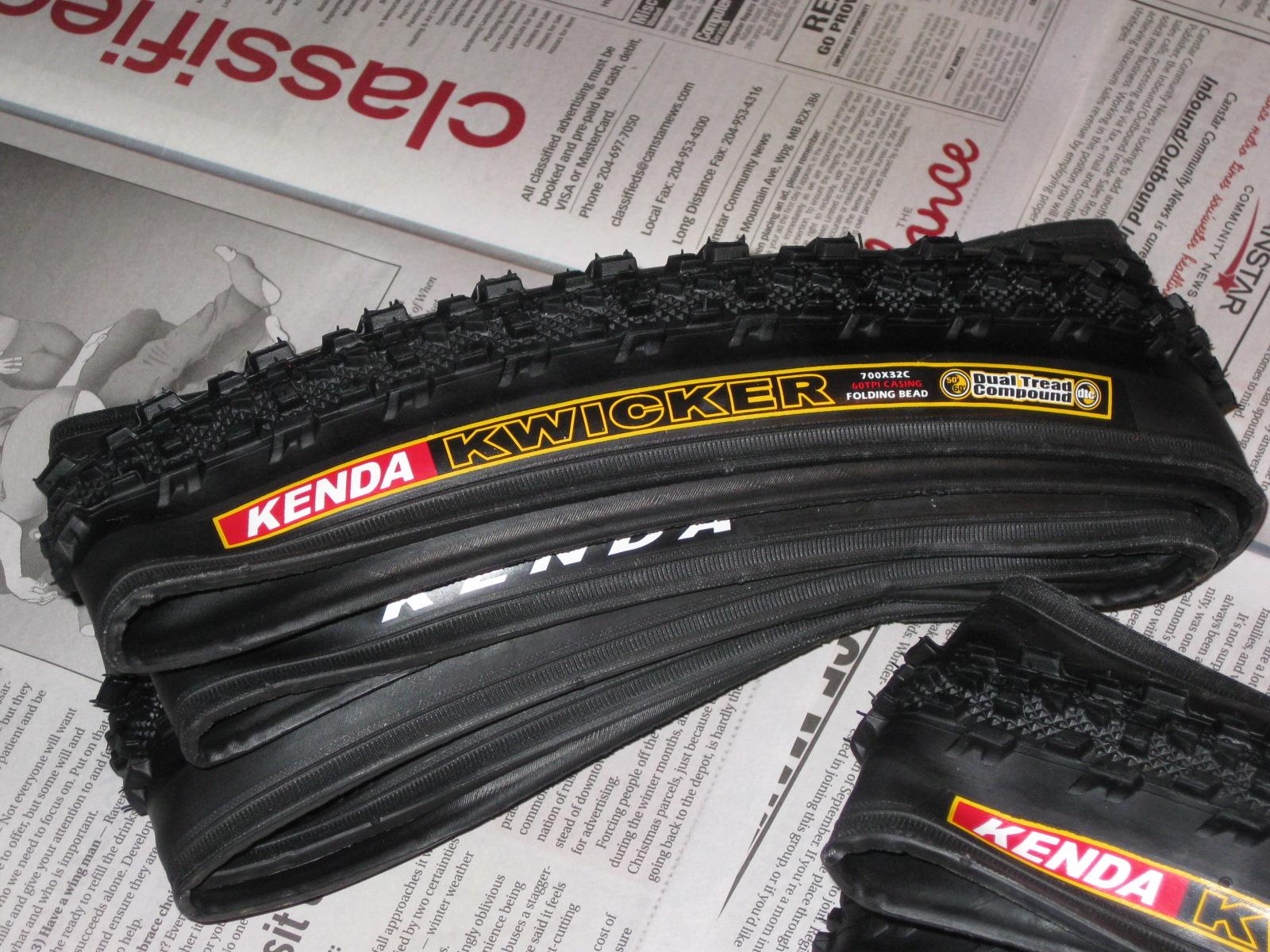 Kenda Kwicker Tires_01   Kurt\'s Blog